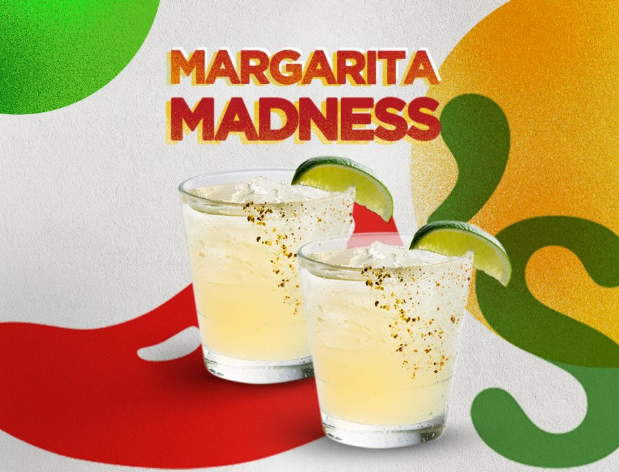 Margarita Madness, This October Only!