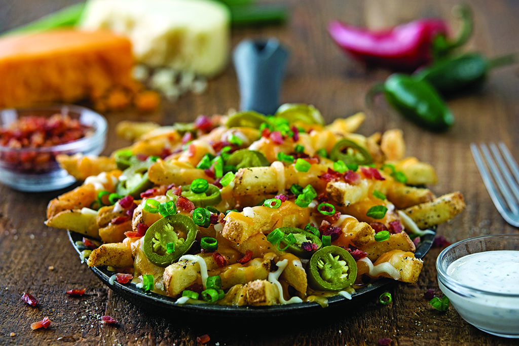 Chili's Appetizers - Texas Cheese Fries