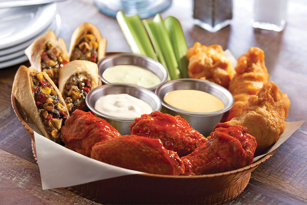 Chili's Appetizers - Triple Dipper