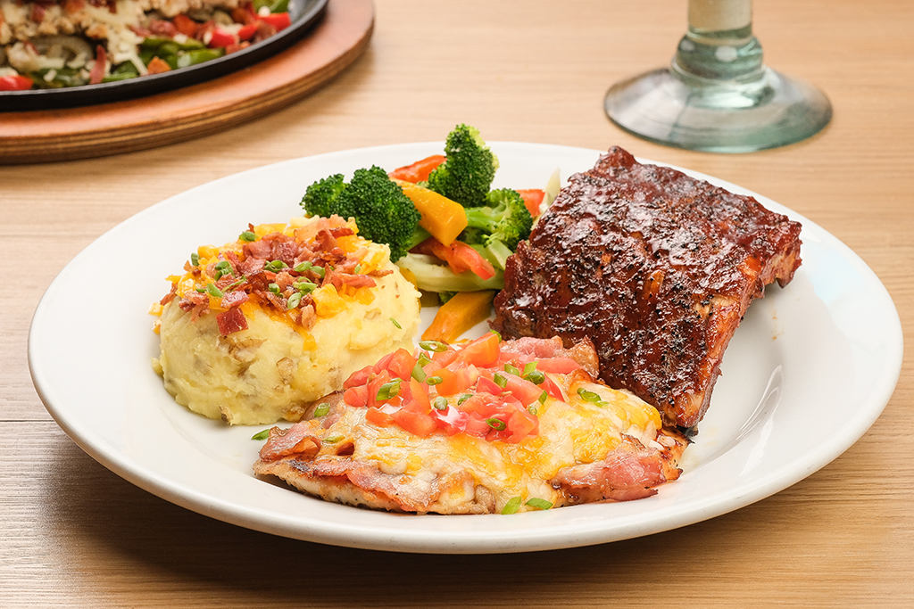 Chili's Baby Back Ribs and Chicken