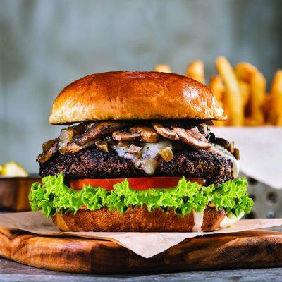 Chili's Big Mouth Burgers - Mushroom Swiss Burger