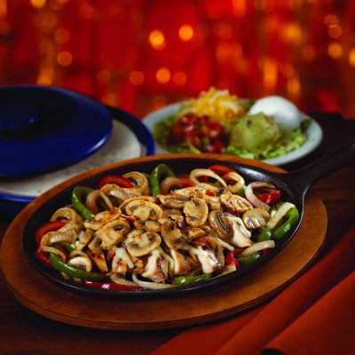 Chili's Fajitas - Mushroom Jack Chicken Fajita