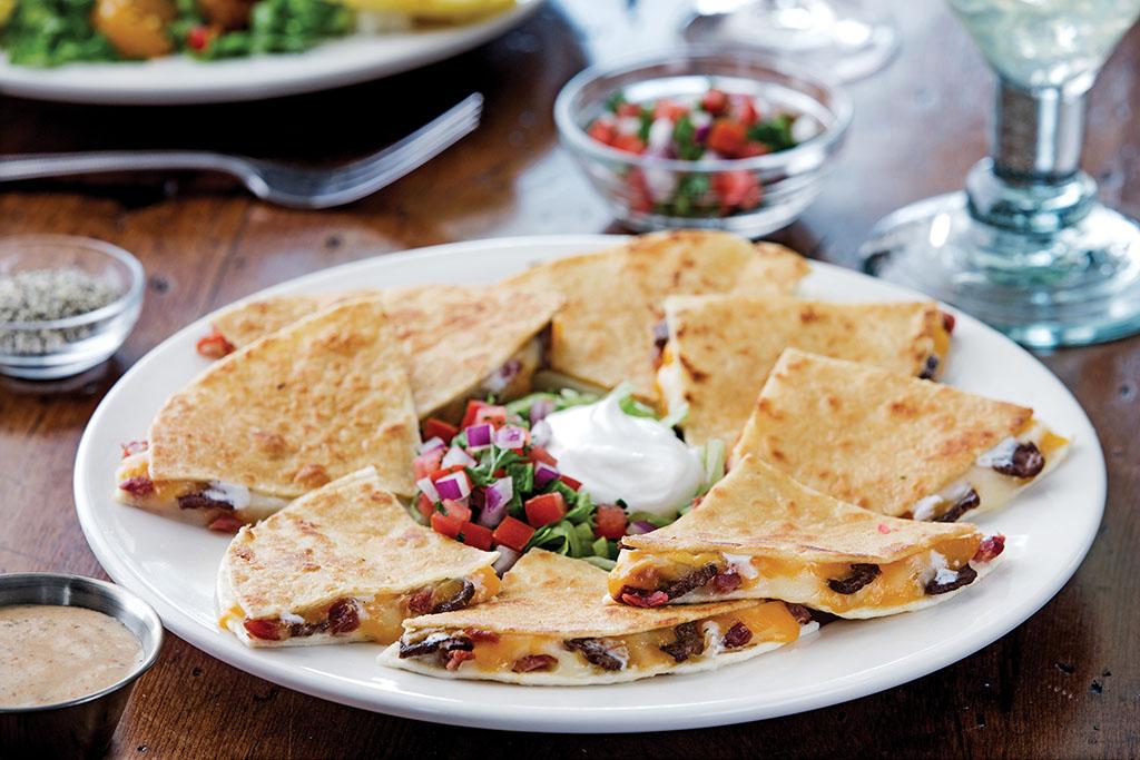 Chili's Quesadillas - Bacon Ranch Beef Quesadillas