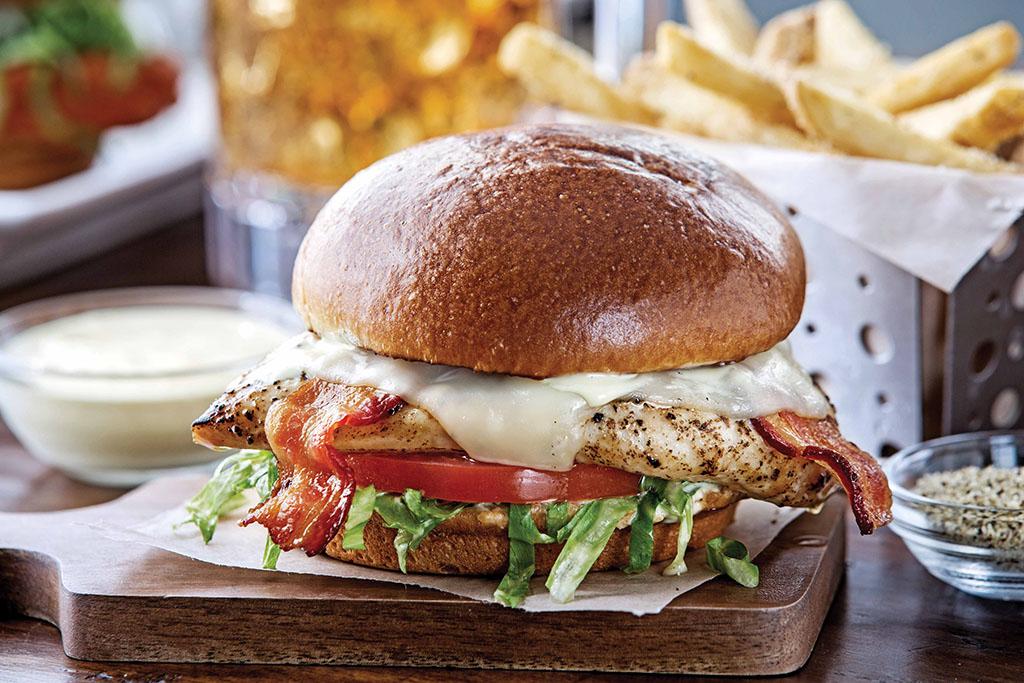 Chili's Sandwiches - Grilled Chicken Sandwich