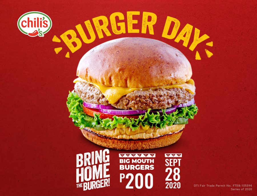 Bring Home The Burger This Burger Day!