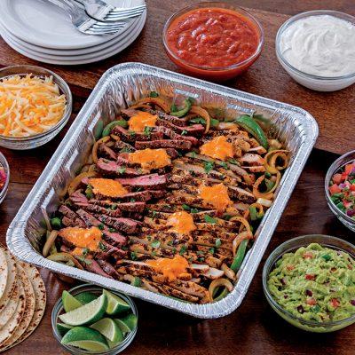 Chili's Beef and Chicken Fajitas Platter