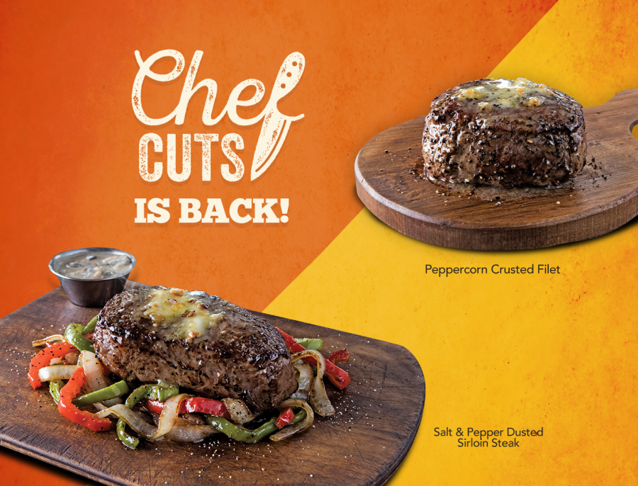 Chef Cuts' Steaks Are Back