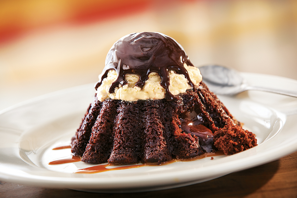 Chili's Desserts - Molten Chocolate Cake