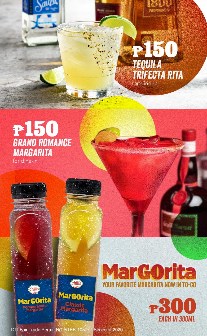 Chili's Margarita Madness 2020 E-flyer with DTI