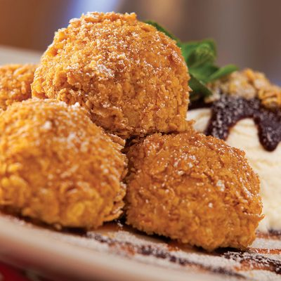 Chili's Sweet Stuff - Fried Cheesecake