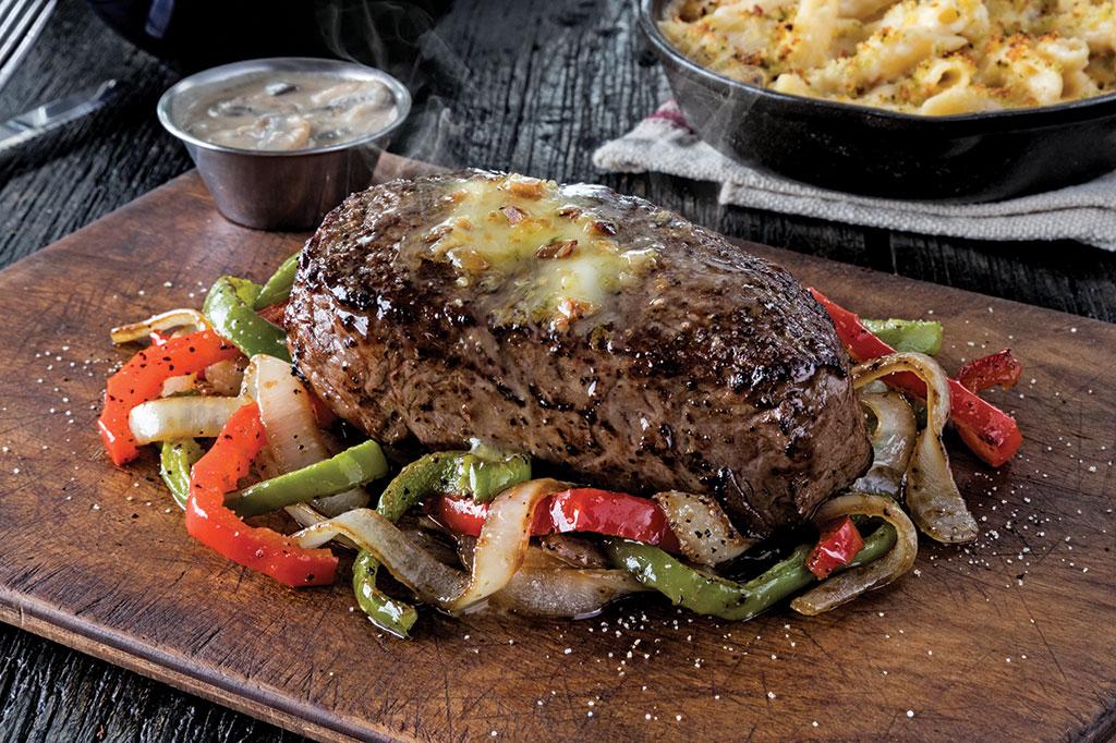 Chili's Salt and Pepper Dusted Sirloin Steak