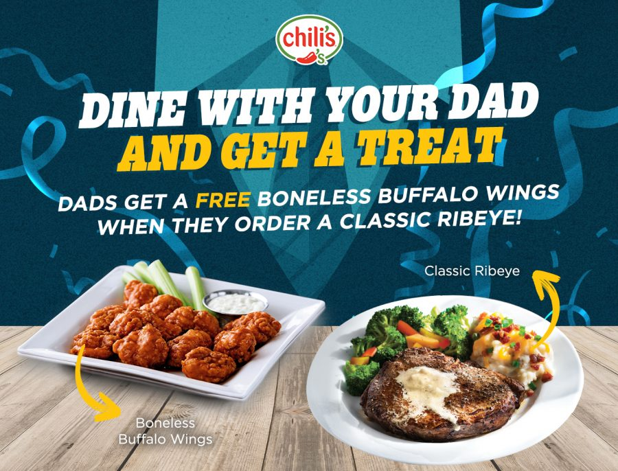 Dine With Your Dad To Get A Treat From Us